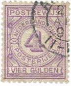 Holland - NVPH PW5 - Stemplet