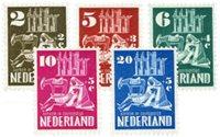 Holland 1950 - NVPH 556-560 - Ubrugt