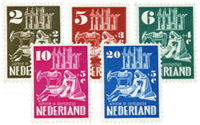 Holland 1950 - NVPH 556-560 - Ubrugt