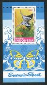 Indonesia - Vlinders '88 (Zb 1359) Postfris souvenir velletje