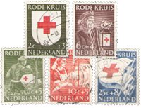 Holland 1953 - NVPH 607-611 - Stemplet