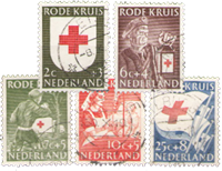 Netherlands 1953 - NVPH 607-611 - Cancelled