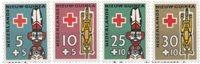 Nederlands Nieuw Guinea 1958 - Nr. 49-52 - Postfris