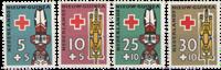 Nederland - Rode Kruis zegels Nieuw Guinea 1958 (nr. 49-52, po