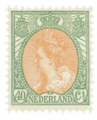 Pays-Bas - NVPH 73 - Neuf avec ch.
