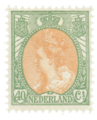 Holland - NVPH 73 - Ubrugt
