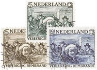 Holland 1930 - NVPH 229-231 - Stemplet