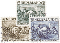 Holland 1930 - NVPH 229-231 - Stemplet