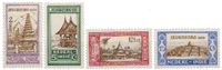 Nederland Indie - Jeugdzorg 1930 (nr. 167-170, ongebruikt)