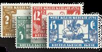 Nederland Indie - Witte Kruiszegels 1931 (nr. 172-175, ongebruikt)