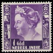 Indes néerlandaises - 1 florin violet - 1938 No 263