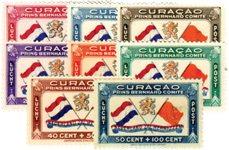 Curacao - Prins Bernhardfonds 1941 (lp18-lp25, postfris)