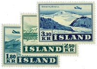 Island 1952 - AFA 279-81 - Postfrisk
