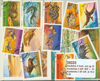 Kazakhstan - 10 different stamps and 2 different souvenir sheets