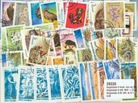 Kirghizistan 9 BF diff. et 57 timbres diff.