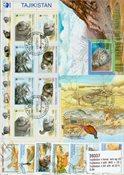 Tadjikistan 4 BF diff. et 22 timbres