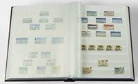 Classeur Leuchtturm BASIC - Noir - A4 - 64 pages blanches, couverture non ouatinée