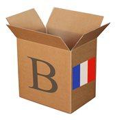 混合装邮票盒 B 法国