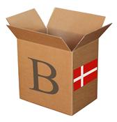 混合装邮票盒 B 丹麦