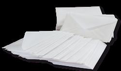 700 luxury glassine envelopes 7,5x11,5 cm