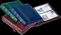 FDC Album OPTIMA, design classique, 20 Pochettes incluses, bleu