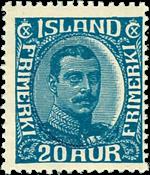 Island 1920 - AFA nr.91 - Postfrisk
