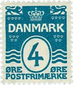 Danmark 1913-14 - AFA nr.80 - Postfrisk