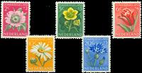 Nederland 1952 - Nr. 583-587 - Postfris