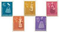 Nederland 1958 - Nr. 707-711 - Postfris