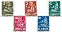 Holland 1950 - NVPH 556-560 - Postfrisk