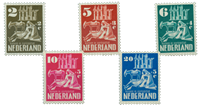 Holland 1950 - NVPH 556-560 - Postfrisk
