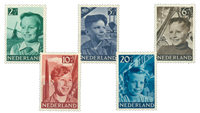 Holland 1951 - NVPH  573-577 - Postfrisk