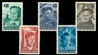 Nederland 1951 - Nr.  573-577 - Postfris