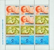 Holland 1966 - NVPH 875 - Postfrisk - Miniark Kind