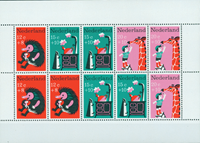 Netherlands 1967 - NVPH 899 - Mint - Block Kinderzegels