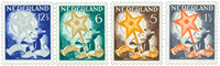 Holland 1933 - NVPH 261-264 - Ubrugt