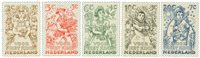 Holland 1949 - NVPH 544-548 - Postfrisk