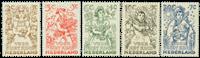Pays-Bas - NVPH 544-548 - Neuf