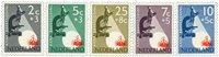 Holland 1955 - NVPH 661-665 - Postfrisk