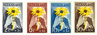 Nederland 1949 - Nr. 538-541 - Postfris