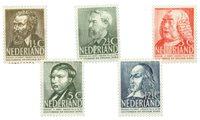 Holland 1939 (nr 318-322 - Postfrisk