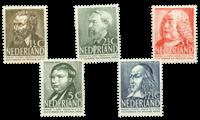 Netherlands 1939 (nr 318-322 - Mint