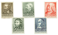 Nederland 1939 (nr 318-322 - Postfris