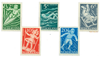 Holland 1948 - NVPH 508-512 - Postfrisk