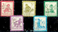 Nederland 1950 - Nr. 563-567 - Gebruikt