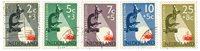 Holland 1955 - NVPH 661-665 - Stemplet
