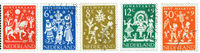 Holland 1961 - NVPH 759-763 - Stemplet