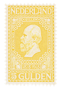 Holland 1913 - NVPH 100 - Ubrugt