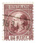 Holland 1867-1868 - NVPH 11 - Stemplet