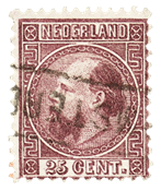 Holland 1867-1868 - NVPH 11 - Stemplet